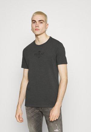 T-shirt con stampa - smoke grey