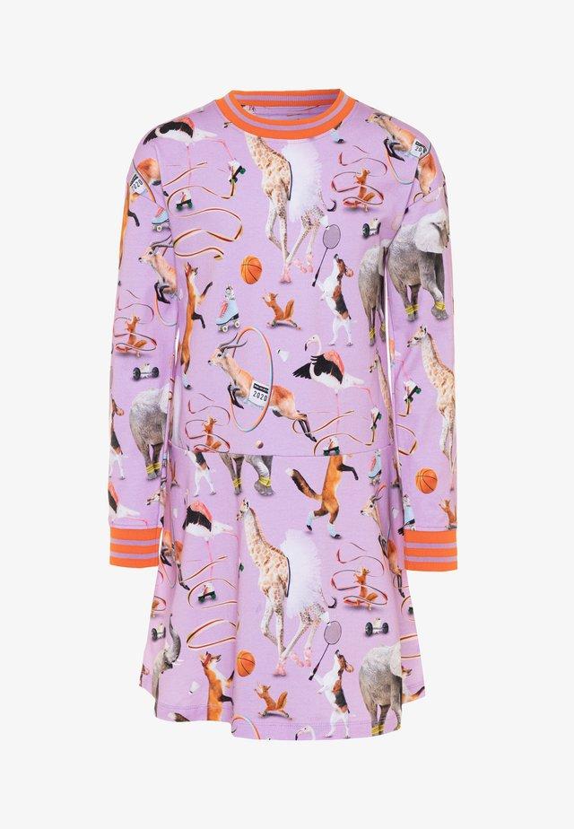 CONNY - Jersey dress - lilac