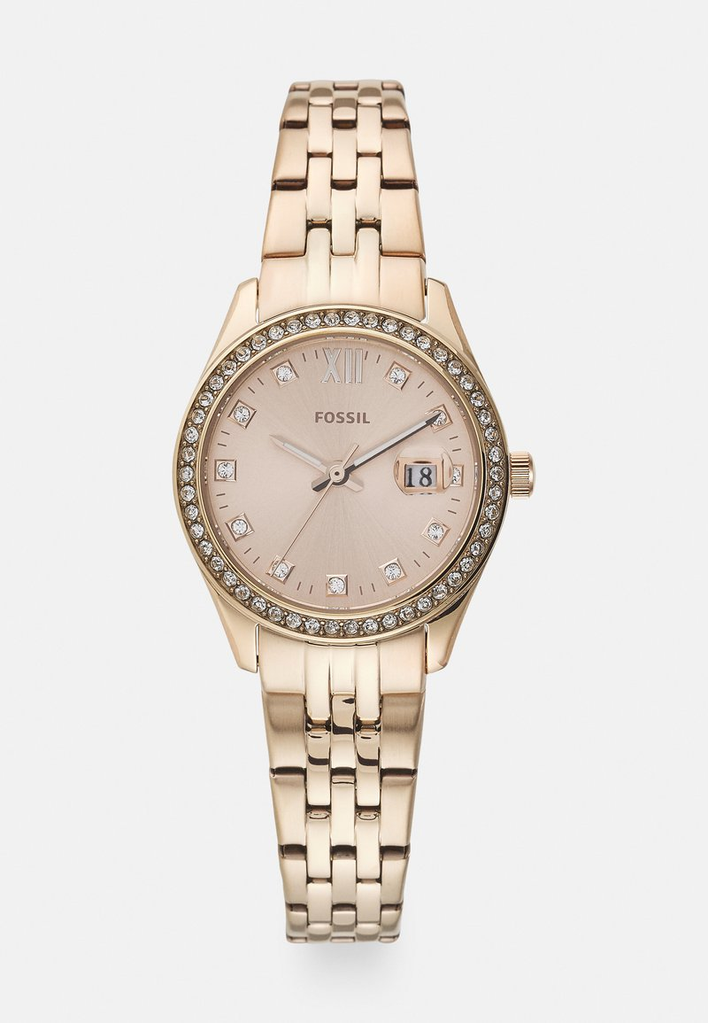 Fossil - MICRO SCARLETTE - Watch - rose gold-coloured
