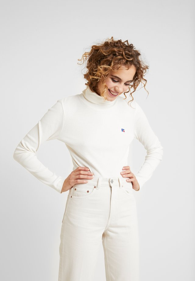 PIPER CROP TURTLE NECK  - Longsleeve - soya