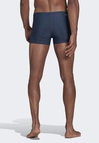 adidas Performance - SEMI 3-STRIPES  - Swimming trunks - blue - 1