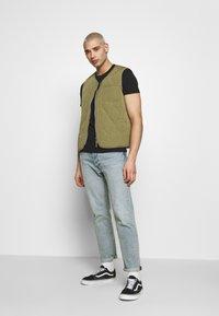 Superdry - NEON LITE TEE - T-shirt basic - black - 1