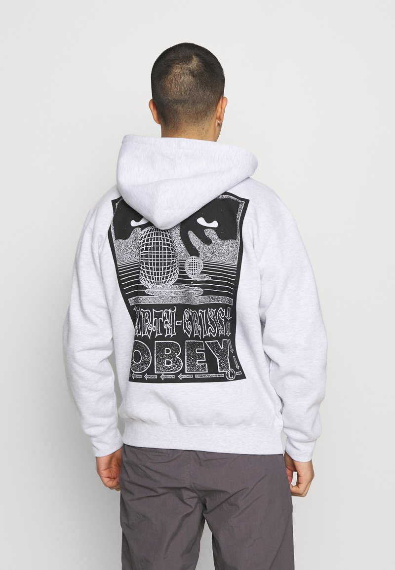 Obey Clothing - EARTH CRISIS - Zip-up hoodie - ash grey