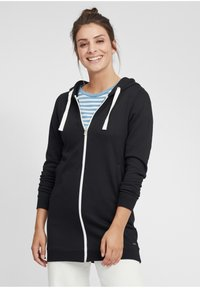 Oxmo - OLINDA - Zip-up hoodie - black - 0