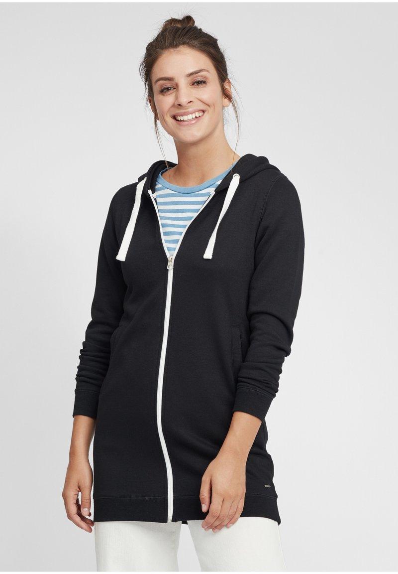 Oxmo - OLINDA - Zip-up hoodie - black