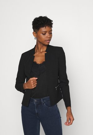 ONLMADDY SHORT ZIP BLAZER  - Blazer - black