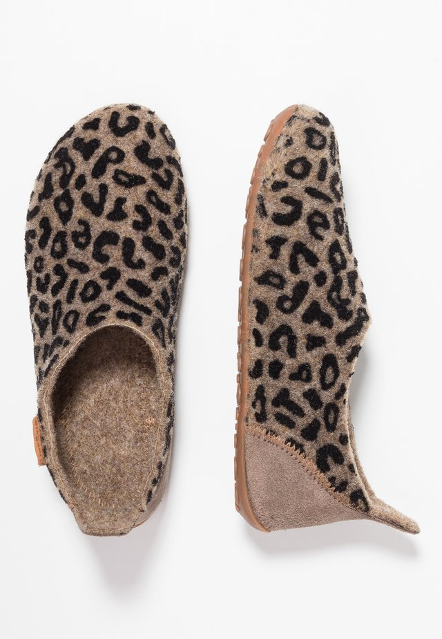 HOME SHOE - Slippers - brown