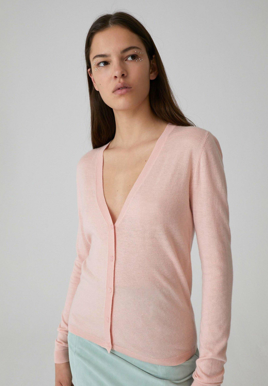 EDITED LORRAINE - Vest - pink - Dames jas Ontwerper