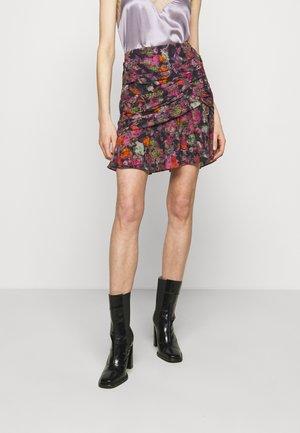 NUADA SKIRT - Blyantnederdel / pencil skirts - black/pink