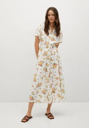 SHIRTY - Košilové šaty - écru