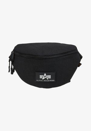 PRINT WAISTBAG - Bum bag - black