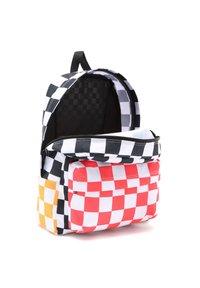 Vans - OLD SKOOL - Rucksack - black/saffron checkerbrd - 2
