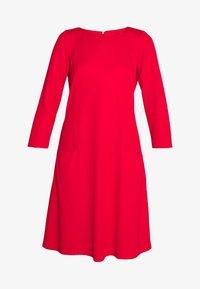 Wallis Tall - BUCKET POCKET SWING DRESS - Trikoomekko - red - 3