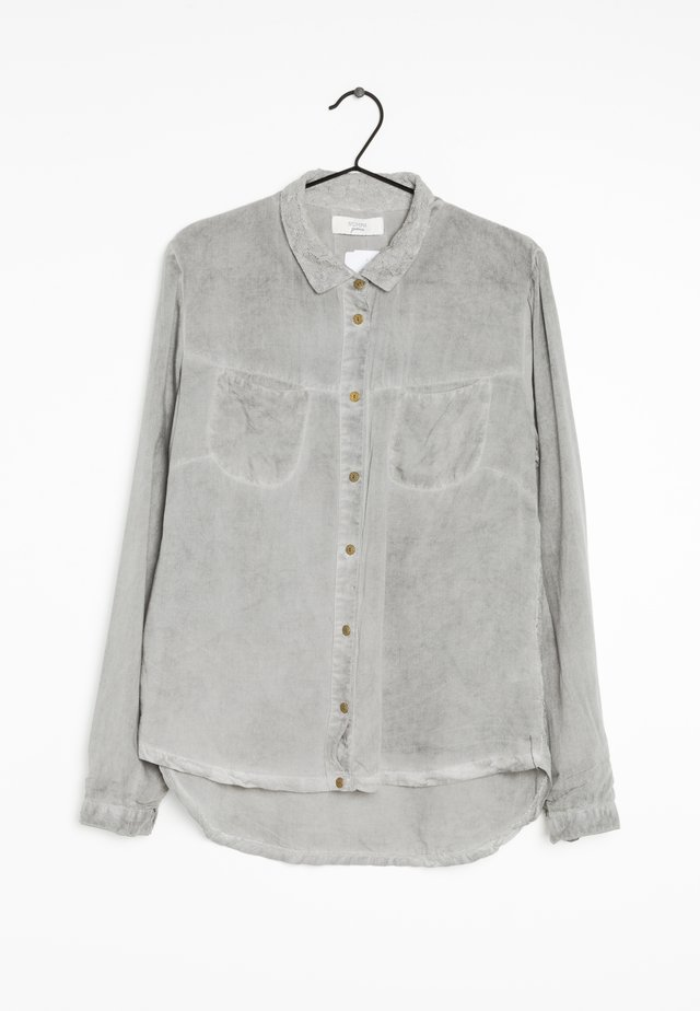 Overhemdblouse - grey