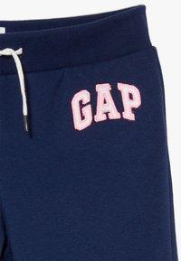 GAP - GIRL LOGO - Tracksuit bottoms - elysian blue - 3
