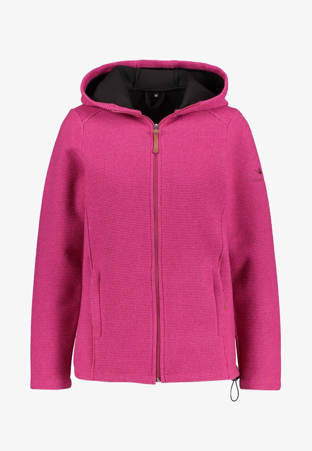 KAINUU - Fleece jacket - pink