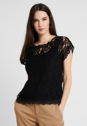 VIVI BLOUSE - Bluse - pitch black