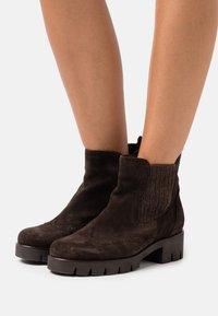 Gabor - Platform ankle boots - brown - 0