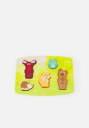 FÜHLPUZZLE WALDTIERE UNISEX - Toy - multicolor