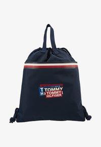 Tommy Hilfiger - KIDS CORP DRAWSTRING BACKPACK - Sportovní taška - blue - 1