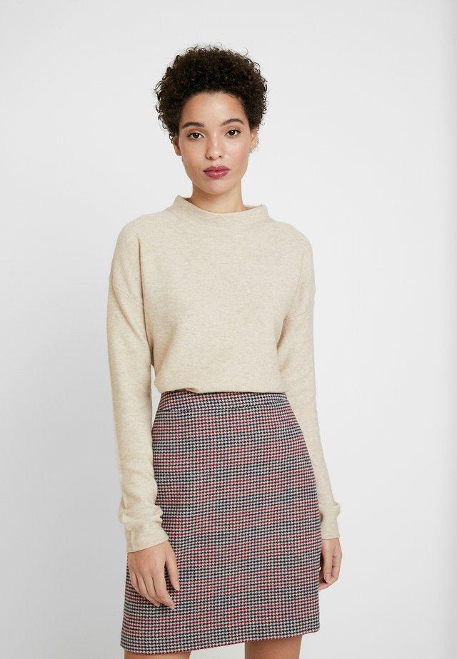Pullover - beige melange