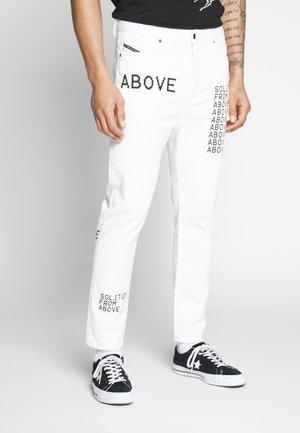 D-VIDER - Jeans Tapered Fit - white denim