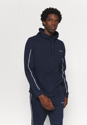 TRAINING ESSENTIALS PIPING TRACKSUIT - Tracksuit - vector navy