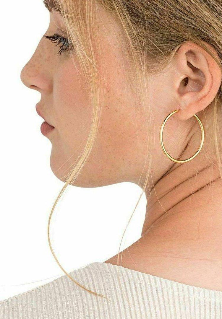 NOELANI - CIRCLE - Earrings - gold
