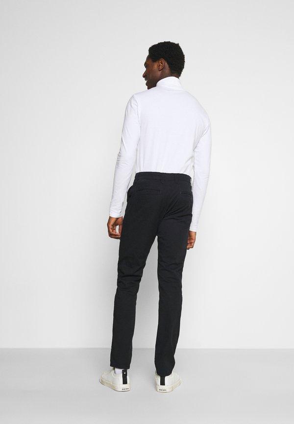 Solid JIM LIGHT - Chinosy - black/czarny Odzież Męska TGUZ