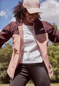 The North Face - STRATOS JACKET - Hardshell jacket - pinkclay/root - 3