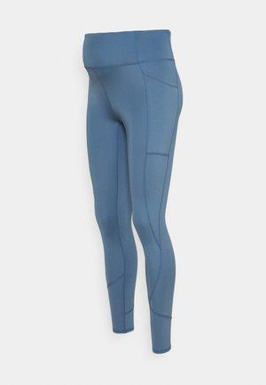 LIFESTYLE POCKET FULL LENGTH TIGHT - Punčochy - copen blue