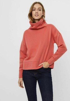 Sweatshirt - spiced coral