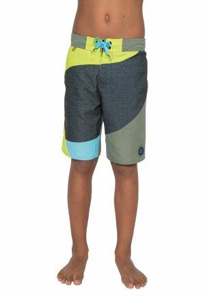 Swimming shorts - grey green