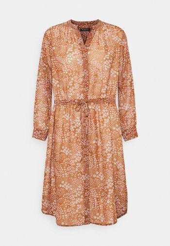 SLFPOLINE DAMINA - Day dress - toffee/pink