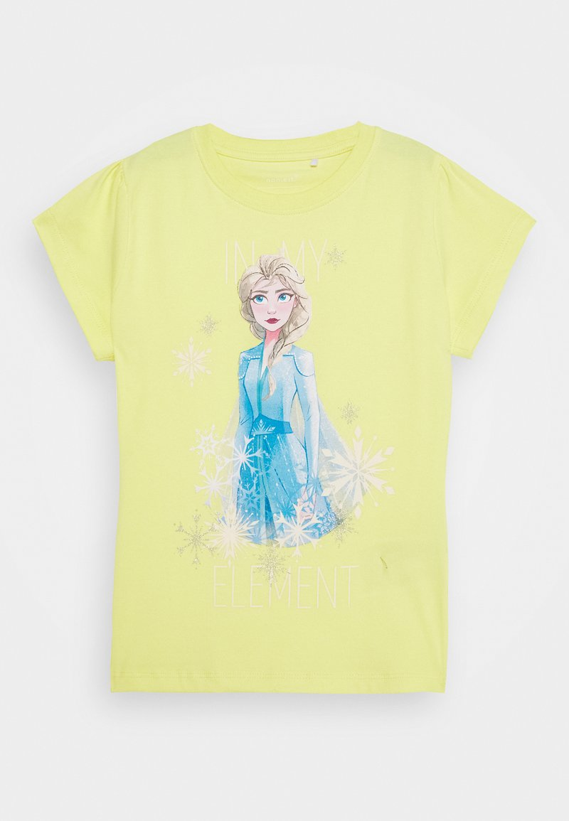 Name it - NKMFROZEN TEA - Print T-shirt - limelight