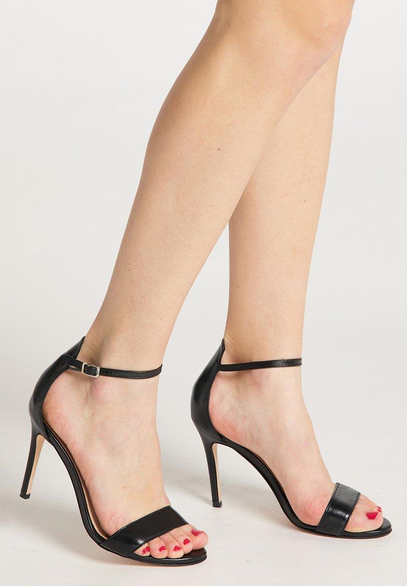 faina - High heeled sandals - black
