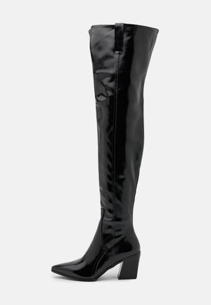 PHYLLIS - Over-the-knee boots - black