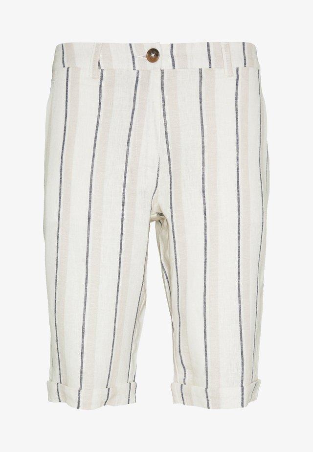 STRIPE - Shorts - navy