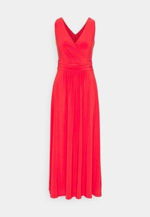 ABAGAIL SLEEVELESS DAY DRESS - Maxi dress - bright hibiscus