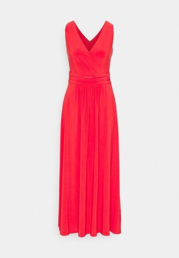 ABAGAIL SLEEVELESS DAY DRESS - Maksimekko - bright hibiscus