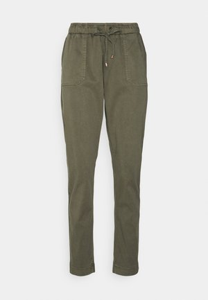 SOFT PULL ON TAPERED PANT - Pantalon classique - green
