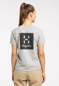 Haglöfs - Print T-shirt - grey melange - 1