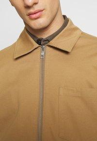 Weekday - AHMED ZIPPED - Summer jacket - beige - 5