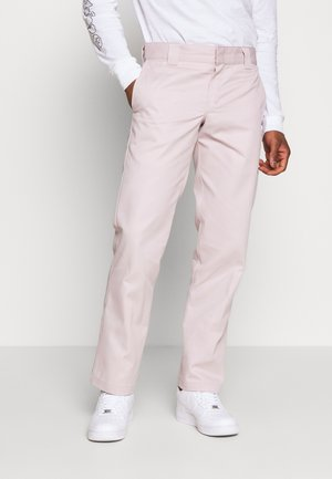 873 SLIM STRAIGHT WORK PANT - Broek - violet