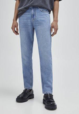 Jean droit - blue-grey