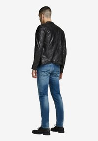 Jack & Jones - Leather jacket - black - 3