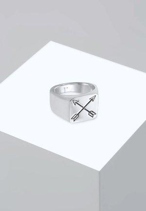 MATT BASIC PFEIL - Ring - silver-coloured