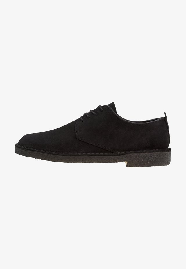 DESERT LONDON - Casual lace-ups - black