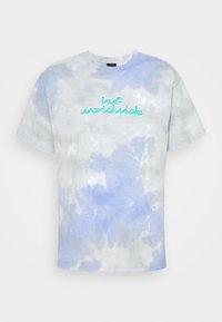 CHEMISTRY TEE - Print T-shirt - violet
