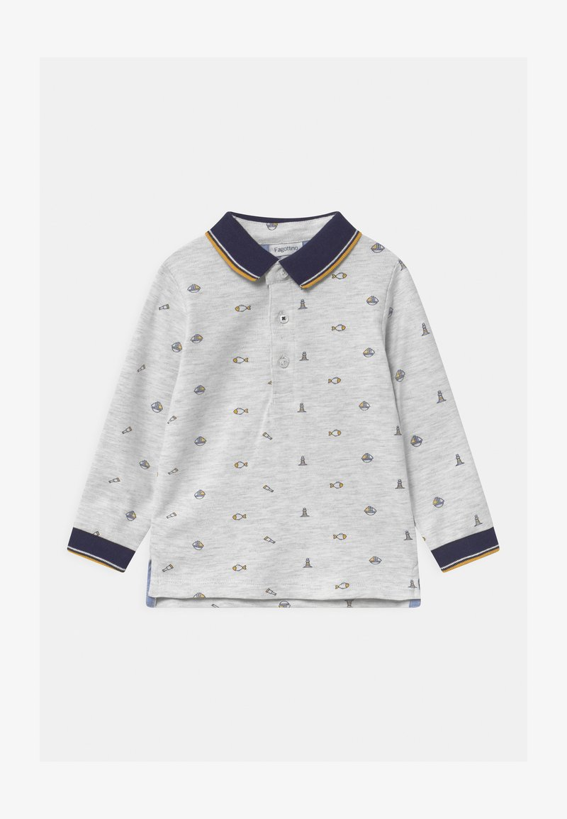 OVS - Polo shirt - grey melange
